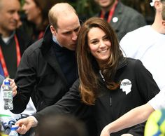 Prince William and his wife Catherine.