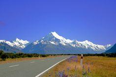 AORAKI New Zealand, Mountains, Places, Nature, Travel, Traveling, Lugares, Viajes, Nature Illustration