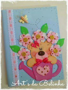 custom books for children Foam Crafts, Diy And Crafts, Arts And Crafts, Paper Crafts, Merian, Custom Book, Decorate Notebook, General Crafts, Kids Cards