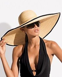 Beach Hat  #swimsuitsforall, #BeachBelle #pinyourparadise