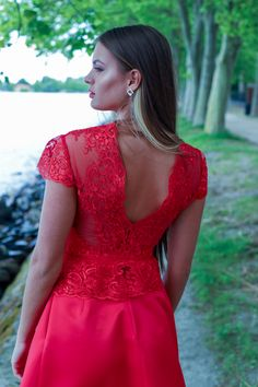 Formal Dresses, Red, Fashion, Moda, Formal Gowns, Fasion, Trendy Fashion, Rouge, Formal Evening Gowns