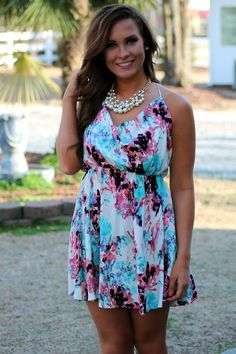 love stitch watercolor dress
