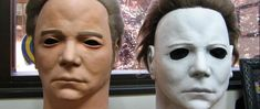 Michael Myers' Halloween Mask WAS Shatner's Face   Urban legends are sometimes true. For example it had been rumored for decades that the mask the killer Michael Myers wore in the Halloween films was in fact based on William Shatner's face. Not just Shatner's face but a Captain Kirk death mask created for Star Trek. It's an old story but for those who've not heard it before or have but don't know all the details StarTrek.com is revisiting it now. And the story is very very true.  Rick…
