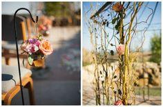 California Desert Rose Wedding -- Flowers