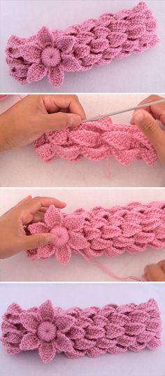 Crochet Headband You Can Easily Make | CrochetBeja
