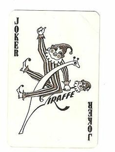 VINTAGE COLLECTABLE SINGLE JOKER PLAYING CARD | eBay