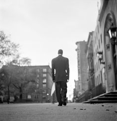 """Gordon Parks' Classic Photo Essay, 'Harlem Gang Leader' 1948 After being paraded around in style as Harlem's """"boy mayor,"""" Red walks 25 blocks home alone. He has few people he can turn to for sincere help."""