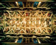 In our Teenage Mutant Ninja Artists camp, kids are painting like Michelangelo painted the Sistine Chapel ceiling!