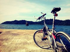 bicycle excursion Koh Chang, Spa Treatments, Simple Pleasures, The Good Place, Bicycle, Sunset, Places, Nature, Travel