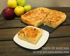 Tarta de manzana fácil de preparar Fácilísima receta paso a paso Incluye video  http://www.golosolandia.com/2014/11/tarta-de-manzana-facil-de-preparar.html