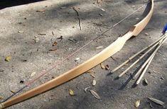 fabriquer un arc, tutoriel utile pour fabriquer facilement un arc en bois soi-même, modèle d'arc classique