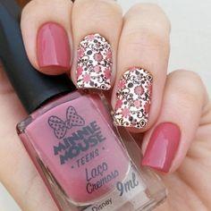 Fall Nail Designs - My Cool Nail Designs Glam Nails, Diy Nails, Beauty Nails, Cute Nails, Pretty Nails, Nails Gelish, Manicure, Nail Art Stamping Plates, Nail Stamping