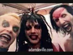 Marilyn Manson and Twiggy Ramirez rare pictures   MARILYN MANSON AND TWIGGY…