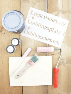 Kreidefarbe DIY und Bilder aus dem Wohnzimmer - Tulpentag. Der Blog