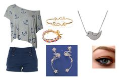"""""""dasdfghjkl"""" by trisha-quach ❤ liked on Polyvore featuring Louche and Ettika"""