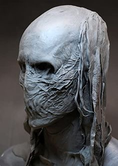 Prosthetic Makeup, Macabre Art, Dungeons And Dragons, Horror Movies, Sculpting, Concept Art, Character Design, Death, Creatures