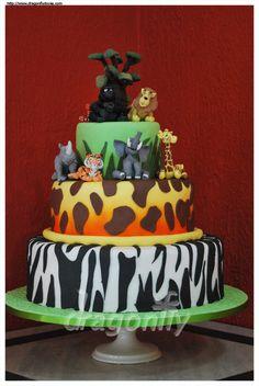 Safari Cake / Bolo Selva