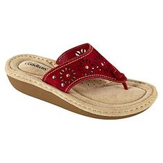 Womens Comfort Sandal Bette - Red