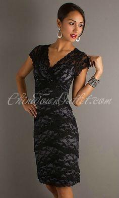 Short lace formal dress     $81.08