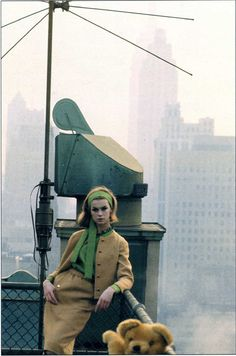 Jean Shrimpton photographed by David Bailey, New York.