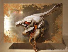 特濃調查團飛往東京!日本巨匠 - 竹谷隆之仕事展 - 超詳盡場內報導 PART TWO!終極戰士、破壞人、聖戰士DUNBINE - 玩具特濃