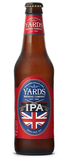 Yards IPA -- Clear gold. Sweet malt aroma and light bitterness. Taste follows and adds some fruitiness. Medium sticky mouthfeel. Ok.