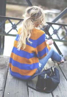 LOVE striped sweaters. see my favorite THML on Southern Elle Style! http://southernellestyle.com/blogfeed/southern-elle-style-shop-share-baublerella-bling-brush