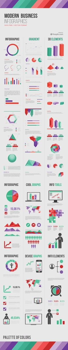 "5159b74e449e Business infographic   data visualisation Freebie Release  ""Modern  Business"" Infographic Elements Infographic Description The landscape of  business is"