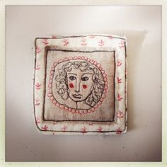 Textile art embroidery free machining/ by LittleBirdOfParadise
