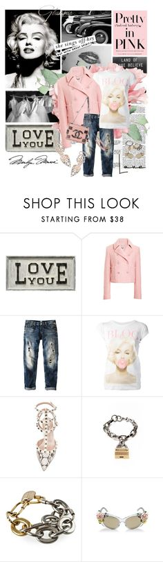 """""""Marilyn"""" by pam0713 ❤ liked on Polyvore featuring Columbia, Sugarboo Designs, Tag, Kenzo, Replay, TeeTrend, Chanel, Valentino, Kate Spade and Rodarte"""