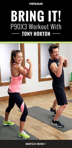 Full-body workout in ten minutes with Tony Horton of P90X. It's quick and intense!