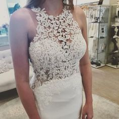 We just got this gorgeous @essenseofaustralia dress in 😍😍😍 the lace detail is so pretty and the back {even prettier}! #essenceofaustralia #d2342