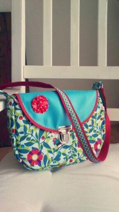 Handtasche - Schultertasche pepita carlitos stoff - ein Designerstück von Anny26 bei DaWanda