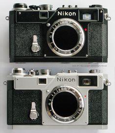 Nikon S3 2000 & Nikon S3 Black Limited Edition 2005 comparison photo