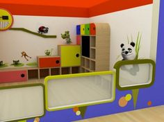 childcare interior design (3) | Daycare design, Daycare ideas and ...