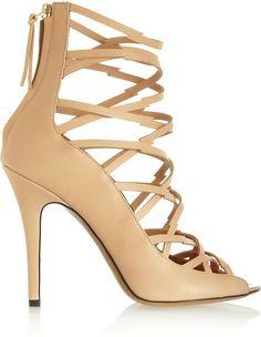 Isabel Marant Lightning Bolt multi-strap leather sandals on shopstyle.com