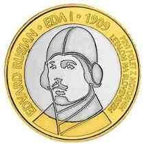 moeda 3 euros Eslovênia Bimetálica, não circulada - Euro Coins, World Coins, Coin Collecting, History, Paper, Stamps, Bronze, Silver, Gold