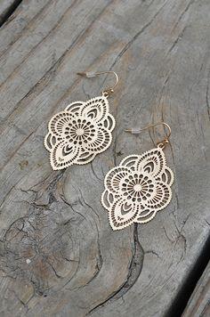 Moroccan Cut Earring