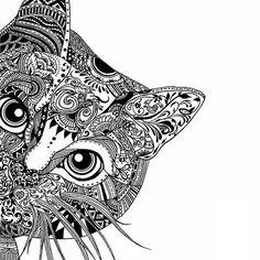 Mandala Cat                                                                                                                                                                                 More
