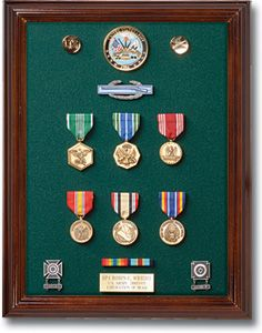 Getting Started With Your Military Medals, Ribbons & Awards - great website to reference for Dad's Christmas gift