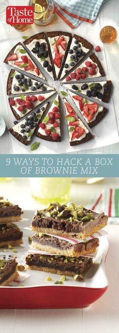9 Ways to Hack A Box Of Brownie Mix