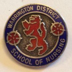 Vintage+Silver+Hallmarked+ School Badges, Nursing Profession, Nurses, Vintage Silver, Badges, Being A Nurse