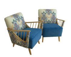 Pair of original 1950s Armchairs