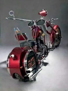 This bikes for all the drummers like a ride and bang on the drum kit wouldn't need a stereo