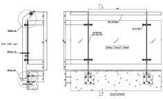 frameless glass railing detail - Google Search