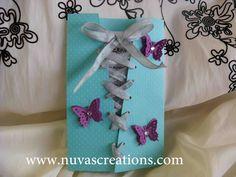 NuVas Creations | Handmade Invitations in Austin TX | Austin Quinceanera