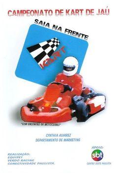 Projeto do campeonato de Kart de Jaú em 2001.
