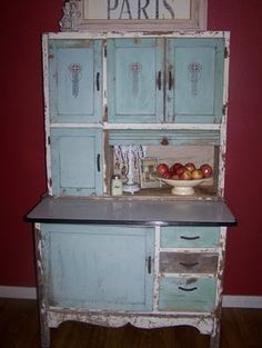 I have a cabinet like this that was my great-grandmas. Need to refinish it to somethin like this.