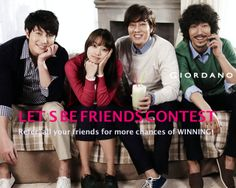 Giordano Let's Be Friends Contest starts at 5PM Tomorrow!  We are giving away AED 250 worth of Giordano Gift Voucher to TWO Lucky Winners! Visit our Facebook Page for more details! http://on.fb.me/1iyP1HA