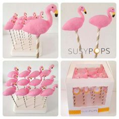 Flamingo (Cake Pops)